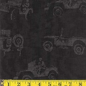 Patriots Cotton Fabric - Jeeps