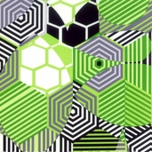 Pattern Play and Prism Break - Geometric Green