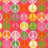 Peace Cotton Fabric - Summer - Clearance