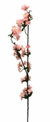 Peach Blossom Spray - 32in - Pink - Single Stem