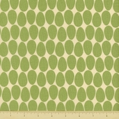 Pear Tree Cotton Fabrics - Allover Eggs - Olive