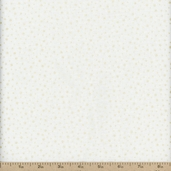Pearl Essence Dot Cotton Fabric - Ivory