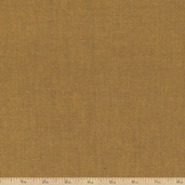 Peppered Cottons Chambray Fabric - Ochre