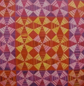 Permission To Play: Kaleidoscope Quilt Kit - warm colorstory