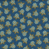 Petals and Paisleys from Quilting Treasures - Blue - CLEARANCE