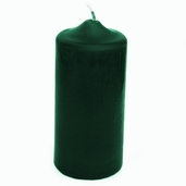 Pillar Candle English Ivy Scented Green 6.5 inch