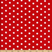 Pimatex Basics Cotton Fabric - Red BT-2582-2-RED