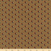Pine Tree Cotton Fabric - Brown R33 4034 0114