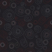 Pirates Cotton Fabric - Black