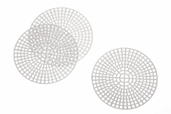 Plastic Canvas Shapes 3 inch Circles - 3 Pkgs of 10
