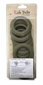 Plastic Grommets - Brown