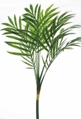 Plastic Parlour Palm Stem - 28in - Green - CLEARANCE