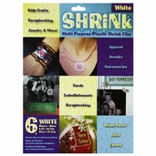 Plastic Shrink Film - White