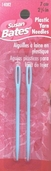 Plastic Yarn Needles from Susan Bates 2 1/4in Lux