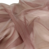 Polyester Organza Fabric - Copper