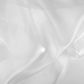 Polyester Organza Fabric - Ivory