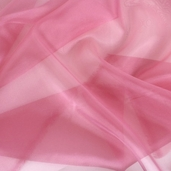 Polyester Organza Fabric - Raspberry Pink