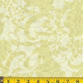 Prairie Rose Fabric - Green - CLEARANCE