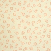 Prairie Rose Fabric - Peach - Sale
