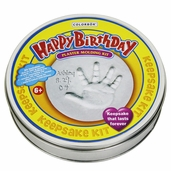 Happy Birthday Plaster Molding Kit