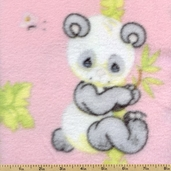 Precious Moments Fleece Fabric - Pink 1387-22094-PIN1