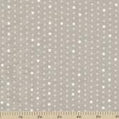 Preeti Dottie Cotton Fabric - Khaki