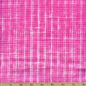 Premium Prints Faded Plaid Cotton Fabric - Pink 5305-22