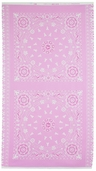 Project Pink Cotton Fabric Panel - Pink