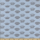 Puttin' on the Ritz Cotton Fabric - Blue 2822-26