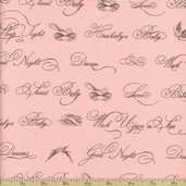 Puttin' on the Ritz Cotton Fabric - Pink 2821-20