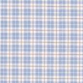 Puttin' On The Ritz Cotton Fabric - Posh Plaid Aqua