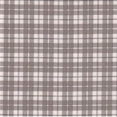 Puttin' On The Ritz Cotton Fabric - Posh Plaid Grey