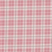 Puttin' On The Ritz Cotton Fabric - Posh Plaid Pink