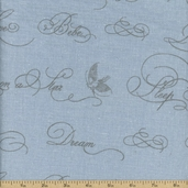 Puttin' on the Ritz Linen Fabric - 54 in. - Blue 54097-12