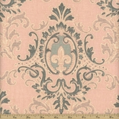 Puttin' on the Ritz Linen Fabric - 54 in. - Pink 54096-11