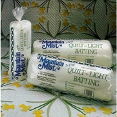 Quilt-Light Batting - Queen Size