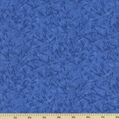 Quiltable Crackle Brites Cotton Fabric - Blue