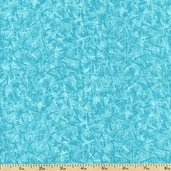 Quiltable Crackle Brites Cotton Fabric - Turquoise - Clearance