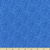 Quiltables Cotton Fabric - Dot - Blue