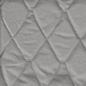 Quilted Therma-Flec Heat Resistant Fabric from James Thompson and Co. Inc. - Silver