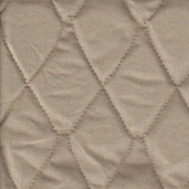 Quilted Therma-Flec Heat Resistant Fabric from James Thompson and Co. Inc. - Tan