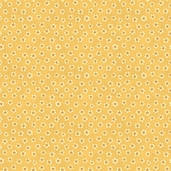 Quilter's Album - Pindot Flowers - Yellow - CLEARANCE