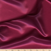 Radiance Sateen Cotton Silk Blend - Cranberry