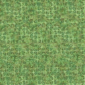 Rainbow Garden Cotton Fabric - Green