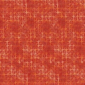 Rainbow Garden Cotton Fabric - Red