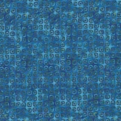 Rainbow Garden Cotton Fabric - Teal