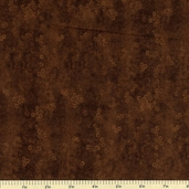 Raindrops Cotton Fabric - Dark Brown 5468-N1