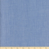 Rayon Chambray Fabric - Denim