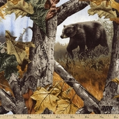 Realtree Woods Scenic Cotton Fabric - Camo