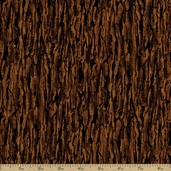 Red Foxes Cotton Fabric - Brown 3926-8245-9